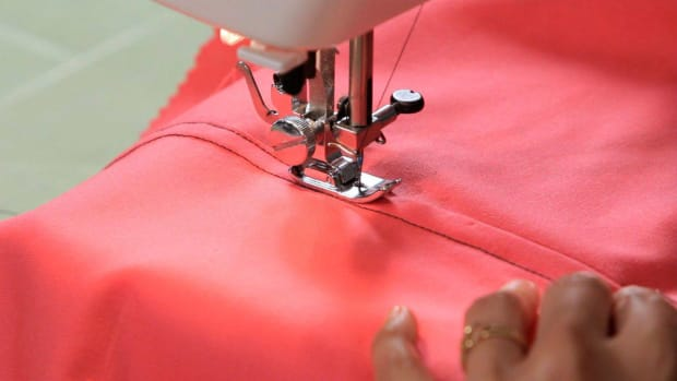 Y. How to Sew a Flat Felled Seam with a Sewing Machine Promo Image