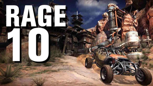J. RAGE Walkthrough Part 10 - Renting a Garage and Arming Your Buggy Promo Image