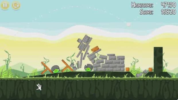 T. Angry Birds Level 2-20 Walkthrough Promo Image