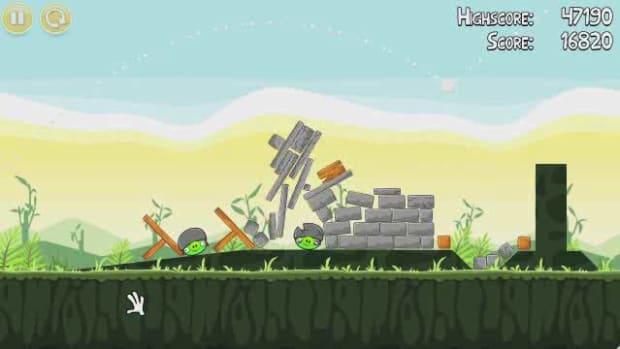 T. Angry Birds Level 2-20 Walkthrough Promo Image