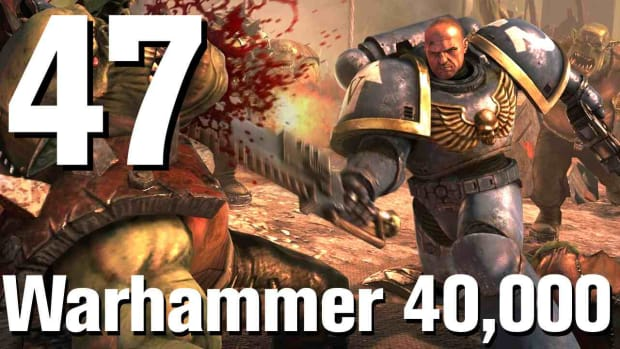 ZT. Warhammer 40K Space Marine Walkthrough Part 47: Man Against Daemon Promo Image