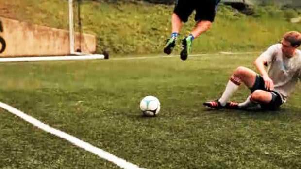 M. How to Slide Tackle in Soccer Promo Image