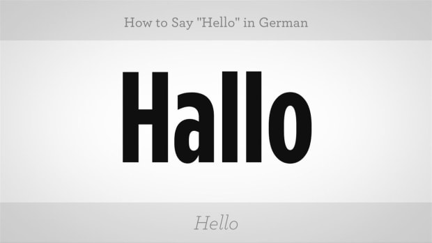 "C. How to Say ""Hello"" in German Promo Image"