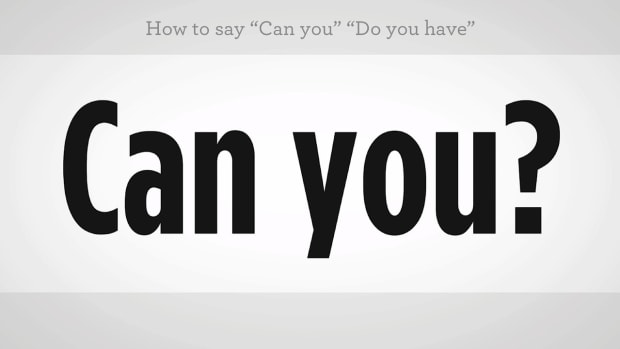"W. How to Say ""Can You"" or ""Do You Have"" in Mandarin Chinese Promo Image"