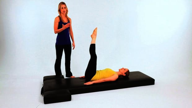 ZI. How to Do the Corkscrew in Pilates Promo Image