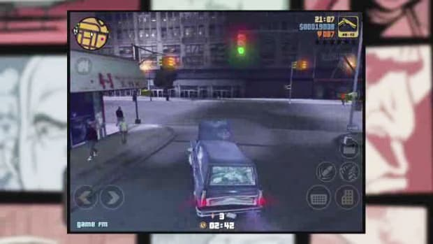 D. GTA3 iOS Walkthrough Part 4 - The Fuzz Ball Promo Image