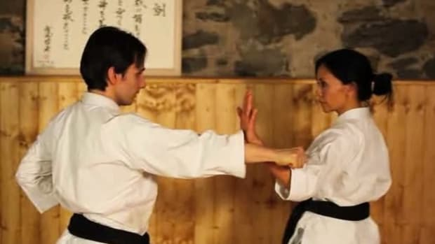 G. How to Do the Open Hand Block in Karate Promo Image