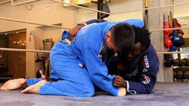 ZL. How to Do the Butterfly Sweep in Brazilian Jiu Jitsu Promo Image
