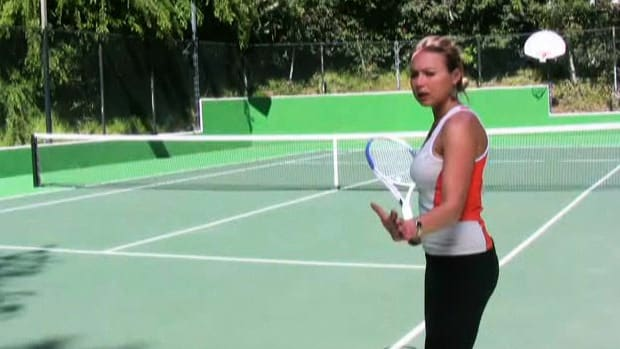 E. How to Hit a Tennis Forehand Promo Image
