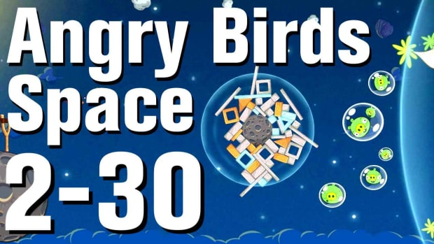 ZZH. Angry Birds: Space Walkthrough Level 2-30 Promo Image