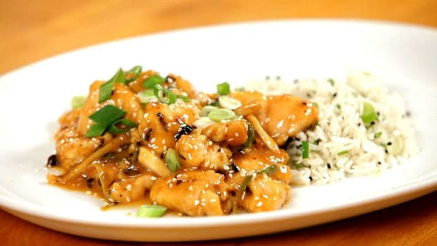 L. How to Make Healthy Sesame Chicken Promo Image