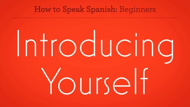 ZZX. How to Introduce Yourself to Someone in Spanish Promo Image