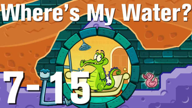 ZZZZZE. Where's My Water Walkthrough Level 7-15 Promo Image