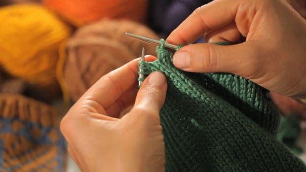 P. How to Bind Off in the Round Promo Image