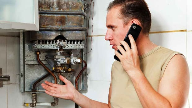 E. How to Clean a Gas Water Heater Tank Promo Image