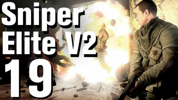 S. Sniper Elite V2 Walkthrough Part 19 - St. Olibartus Church Promo Image