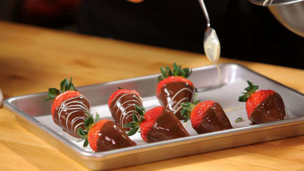 D. How to Make Chocolate-Covered Strawberries Promo Image