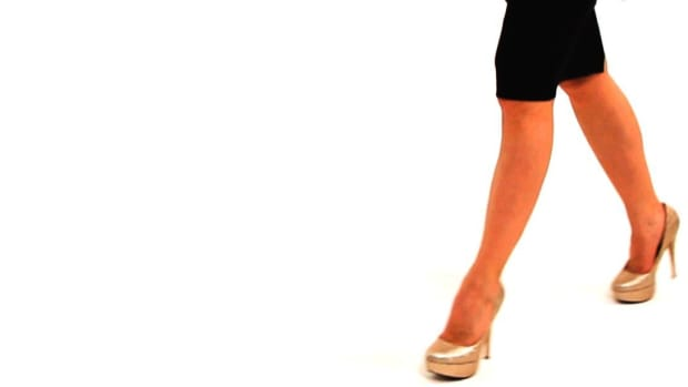 F. How to Avoid Back Pain from Wearing High Heels Promo Image