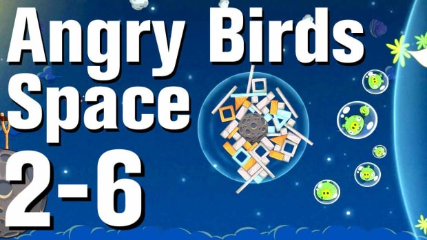 ZJ. Angry Birds: Space Walkthrough Level 2-6 Promo Image