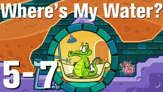 ZZZI. Where's My Water Walkthrough Level 5-7 Promo Image