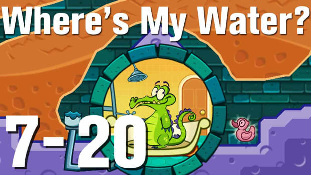 ZZZZZJ. Where's My Water Walkthrough Level 7-20 Promo Image