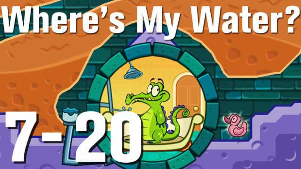 ZZZZZJ. Where's My Water Walkthrough Level 7-20 Promo Image