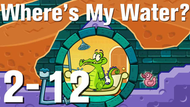 ZF. Where's My Water Walkthrough Level 2-12 Promo Image