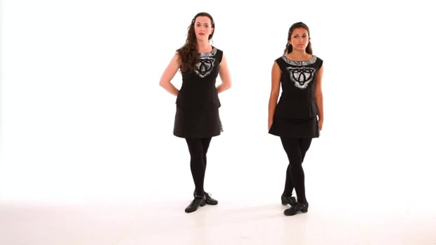 ZK. How to Do a Fast Click & Double Clicks in Irish Step Dancing Promo Image