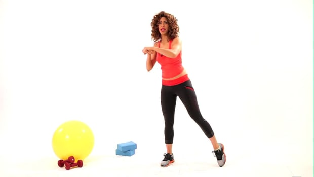ZB. How to Do a Bob & Weave Squat Promo Image