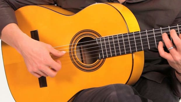 X. Flamenco Guitar Techniques: How to Play Tremolo Promo Image