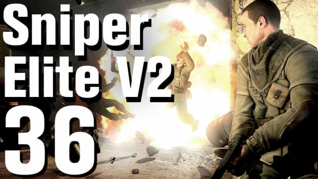 ZJ. Sniper Elite V2 Walkthrough Part 36 - Brandenburg Gate Promo Image