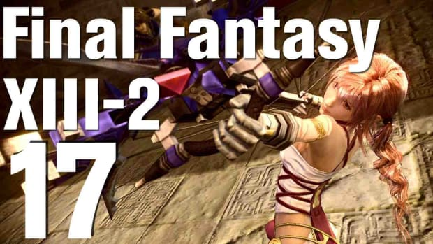 Q. Let's Play Final Fantasy XIII-2 Part 17 - Temporal Rift Promo Image