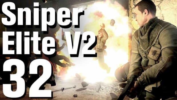 ZF. Sniper Elite V2 Walkthrough Part 32 - Karlshorst Command Post Promo Image