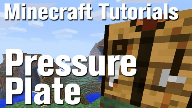 ZZD. Minecraft Tutorial: How to Make a Pressure Plate in Minecraft Promo Image