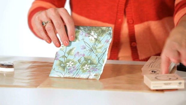 A. How to Distress Paper for Scrapbooking Promo Image