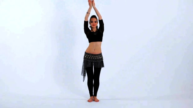 ZO. How to Do Side-to-Side Chest Slides in Belly Dancing Promo Image