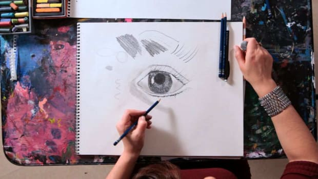 I. How to Draw a Realistic Eye Promo Image