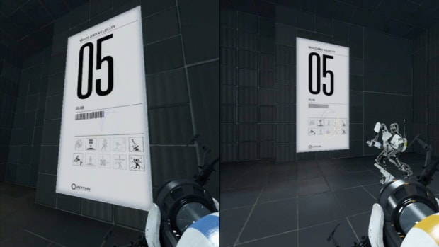 ZZS. Portal 2 Co-op Walkthrough / Course 2 - Part 5 - Room 05/08 Promo Image