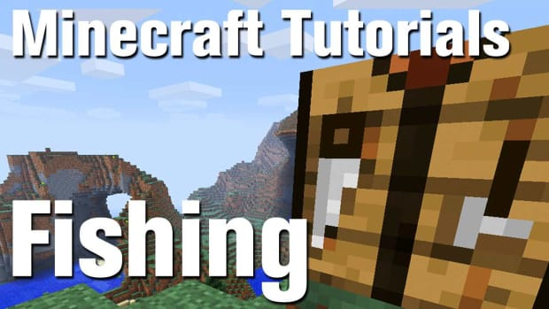 ZZI. Minecraft Tutorial: How to Catch Fish in Minecraft Promo Image
