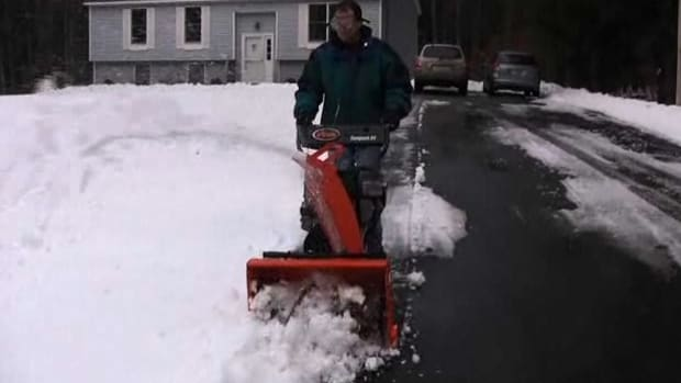Y. How to Operate a Snow Blower Safely Promo Image