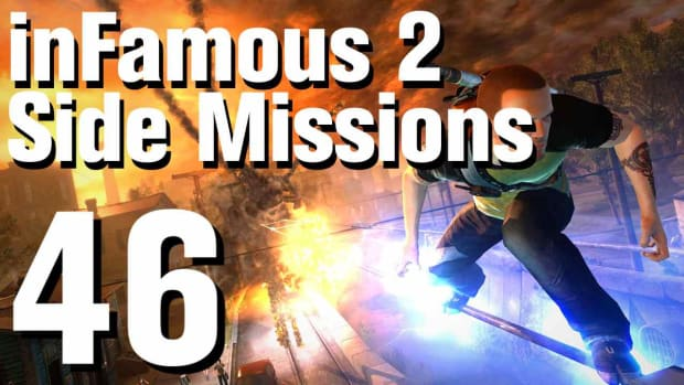 ZZZN. inFamous 2 Walkthrough Side Missions Part 46: Overcharge - Flood Town 2 Promo Image