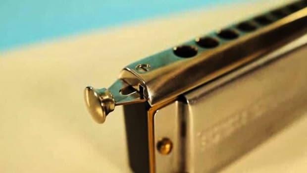 I. How to Play Chord Vamps & Basic Train Rhythm on Harmonica Promo Image