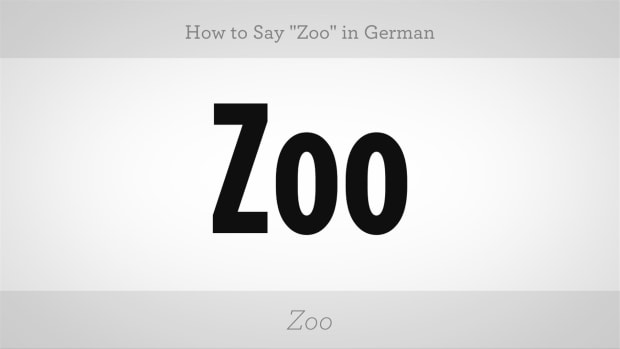 "ZZC. How to Say ""Zoo"" in German Promo Image"