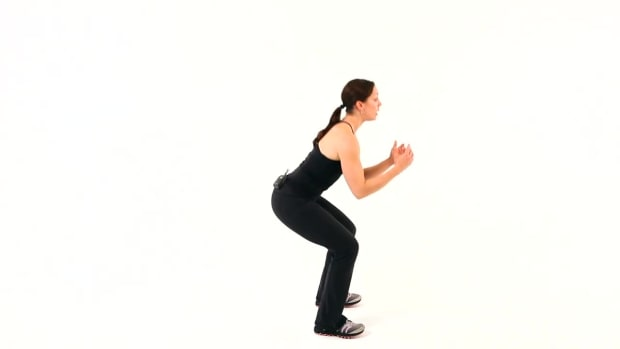 C. How to Do a Squat for a Boot Camp Workout Promo Image