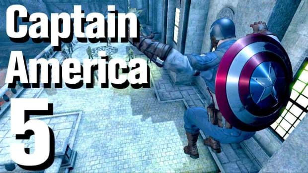 E. Captain America Super Soldier Walkthrough: Chapter 2 (2 of 2) Promo Image