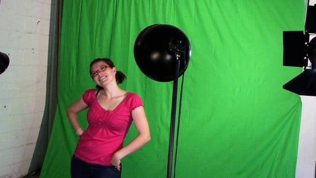 Q. How to Light a Green Screen Promo Image