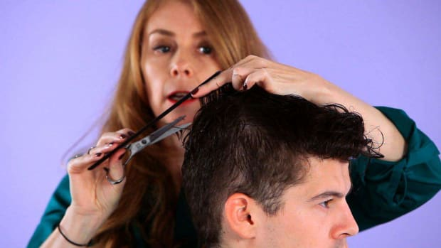 A. How to Cut Top Hair for Forward Motion Promo Image