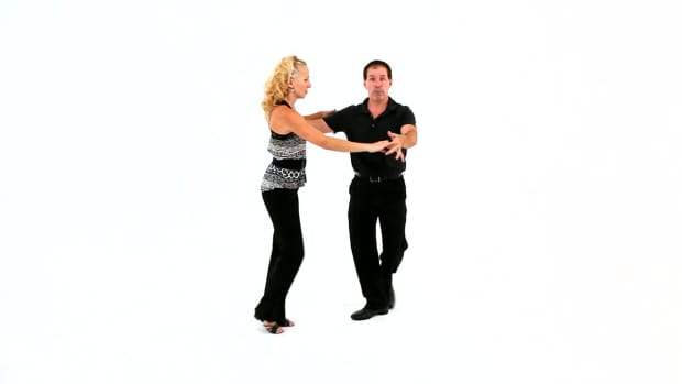 ZF. How to Do a West Coast Swing Whip with a Single Outside Turn Promo Image