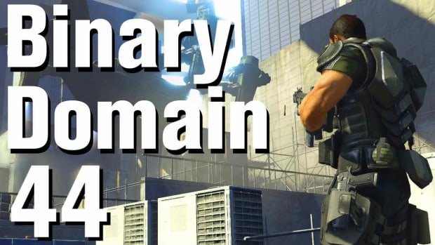 ZR. Binary Domain Walkthrough Part 44 - Gaussius Promo Image
