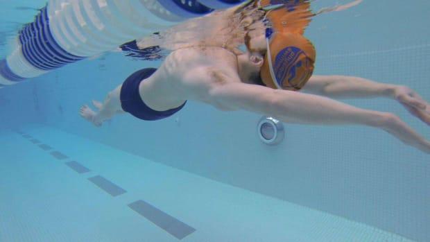 X. How to Swim Feet First Promo Image